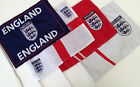 England Car Flags Assorted Designs Sold in Pairs England FA World Cup Football