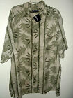 NEW BAMBOO JUNGLE HAWAIIAN SHIRT by PURITAN size XL 2X 3X