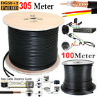 100M / 305M CCTV Shotgun Cable RG59 Coaxial Security Camera Power & Video Lead