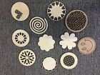 COASTERS 4/set Wooden Circle Cut To Shape Craft Home Gift Drinks Table Mats