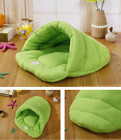 Pet Cat Dog Nest Bed Soft Warm Cave House Sleeping Bag Mat Pad Soft&Warm Cushion
