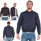 Brave soul Mens Coat MA1 Bomber Biker Vintage Winter Long Sleeve Casual Jacket M
