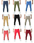 Mens Skinny SLIM FIT STRETCH jeans SLIM FIT Trouser Pants Casual Pant Size 30-40