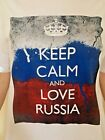 Conte America T-SHIRT Keep Calm and Love Russia 100 Cotton