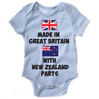 Baby Grow / Vest - MADE IN GREAT BRITAIN WITH NEW ZEALAND PARTS - Body Suit