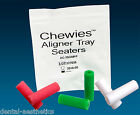 Aligner Chewies x 6 ~ Plain, Mint or Bubblegum Seaters Invisalign Clear Braces