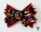 Pulp Fiction Film Scene Stacked Handmade Hair Bow with Mia Wallace