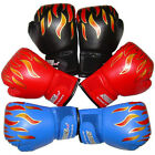 Kids Boxing Gloves PU Leather Junior Punching Bag Mitts MMA Muay thai Training
