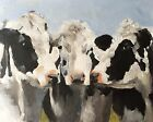 Cows Art PRINT Wall Art from original oil painting by James Coates