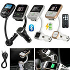 Wireless Bluetooth FM Transmitter Radio Car MP3 Audio Player LCD SD USB Charger
