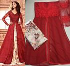 pakistani Indian Bollywood Designer Salwar Kameez anarkali suit dress FASHION w2