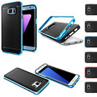 For Samsung Galaxy S7 S7 Edge 360° Full Cover Hybrid Shockproof Armor Hard Case