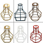 New Edison Iron Lampshade Vintage Ceiling Light Fitting Lamp Bulb Cage Bar Cafe