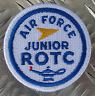 Genuine US Air Force USAF Junior ROTC / Military Iron-on Badge Patch - NEW