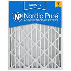 Furnace AC Air Filter Electrostatic Allergy Dust 20x25x4 Merv 12 Nordic Pure 11