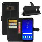 For Samsung Galaxy S8 Active Case Leather Flip magnet Cover Slots Wallet Pouch