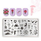 BORN PRETTY Nail Stamping Plates Nail Art Image Stamp Template Stencils