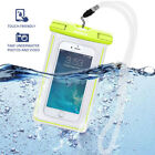 Waterproof Bag Underwater Pouch Dry Case Fluorescent Cover For iPhone Cell Phone