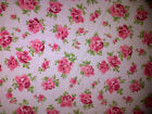 NEW POLYCOTTON FLORAL PRINT FABRIC *** PER METER***MULTICOLOURED***.