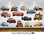 Cars 3 Kids Bedroom Vinyl Decal Wall Art Sticker - 14 Character Selection