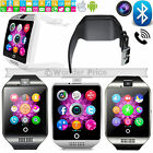 NEW 2017 Bluetooth Touch Screen Smart Watch Q18 For Android mobiles & iPhone UK