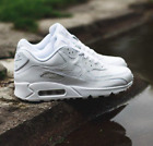 Nike Air Max 90 Essential Triple White - Leather Cotton - UK 6 7 8 9 10 11