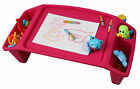 New Basicwise Kids Lap Desk Tray, Portable Activity Table