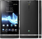 Sony Ericsson Xperia SL LT26II 12MP Unlcoked Black Mobile Phone 32GB Like New UK
