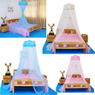 Lace Bed Mosquito Netting Mesh Canopy Princess Round Dome Bedding Net Canopies  image