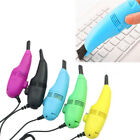 HOTPortable Mini USB Laptop Computer Keyboard Vacuum Cleaner Dust Cleaning Brush