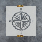 Внешний вид - Compass Stencil - Reusable Stencil of a Nautical Compass in Small & Large Sizes