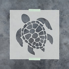 Внешний вид - Turtle Stencil - Reusable Stencil of a Turtle Available in Small & Large Sizes