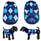 US Pets Dog Warm Knitted Sweater Coat Puppy Jumper Tops Knitwear Apparel Clothes