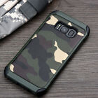 Military Camo Camouflage Shockproof Cover Case For Samsung Galaxy S8 S8+ S9
