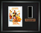 BOND 007  The Man with the Golden Gun    Roger Moore   FRAMED MOVIE FILMCELLS $30.4 AUD