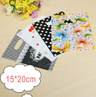 Внешний вид - Colorful Printing Plastic Gift Decorated Packing Shopping Bag 15cmx20cm 100PCS