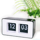 Wall Retro Clock Auto Flip Clock Digital Clock Retro With Big White Number E4