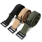 Outdoor Tactical Rappelling Downhill Canvas Army Military Belt  CQB