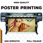 POSTER PRINTING SILK OR MATT, 200GSM, A4 AND A3