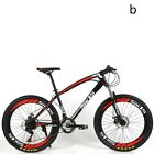 "Suspension Carbon steel Mountain Bicycle Cross Country Enduro Bike 24 Speed 26""."