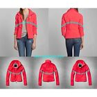 ABERCROMBIE & FITCH WOMENS ACTIVE SOFT SHELL JACKET SIZE SMALL A&F