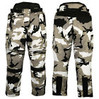 Motorcycle Trousers/Pants Camo Style, Cordura 100% Waterproof
