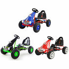 FoxHunter Kids Child Go Kart Ride On Car Pedal Rubber Wheels Handbrake Seat G05