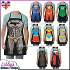 DC Comics Justice League Superhero Aprons Novelty Funny Cooking BBQ Chef Gift