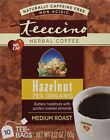 Teeccino Chicory Herbal Tea Caffeine Free Hazelnut -- 10 Tea Bags