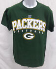 Green Bay Packers Football Adult Short Sleeve Shirt Green *Imperfect