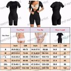 Workout Black Shaper Corset Bustier Relief Pain Cincher Control Elastic Hot Zip