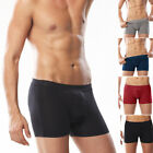 New Men's Cotton Underwear Boxer Briefs Shorts U Bulge Pouch Soft Underpants 3XL