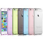 Ultra Clear Transparent Silicone Case TPU Rubber Cover For Apple iPhone 5/6/7/8+
