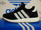 NEW AUTHENTIC ADIDAS Iniki Runner Shoes - Black/White; BY9727